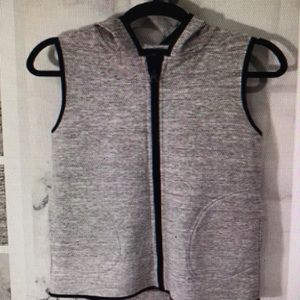 Lululemon insculpt hoodie vest reversible